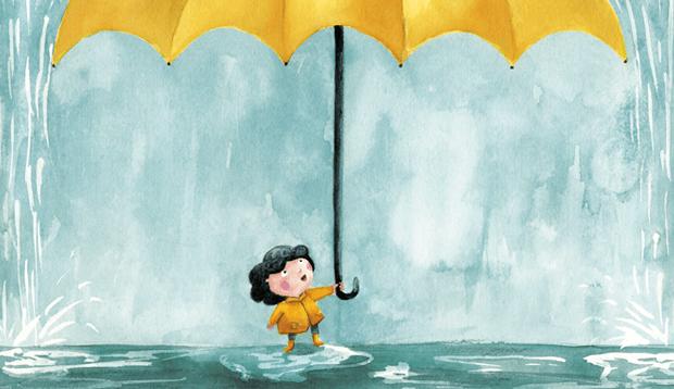 Elsa tenía un paraguas / Elsa had an umbrella