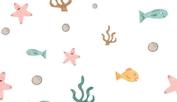 Bajo el mar Pattern