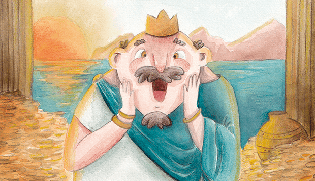 El Rey Midas y su toque de oro / King Midas and his golden Touch